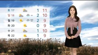 [날씨] 수능 퇴실 무렵 10도 안팎 '쌀쌀'…내일 중국발 스모그