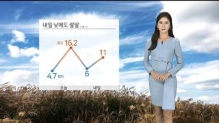 [날씨] 내일 전국 곳곳 초미세먼지 '나쁨'…한낮도 쌀쌀