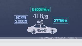 5G 자율주행차…데이터 요금만 27억원?