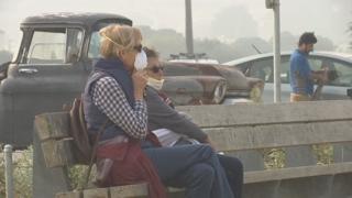 미국 서부 캘리포니아 산불연기로 공기질 역대 최악