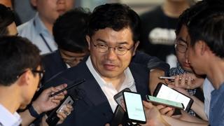 송인배 비서관 '불법정치자금 의혹' 소환 조사