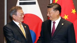 """문 대통령, 시진핑과 회담…""""북미회담 성공 협력하자"""""""