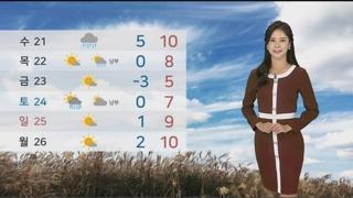 [날씨] 아침 초겨울 추위…충북ㆍ광주ㆍ경북 먼지 나쁨