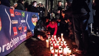희생된 유대인 추모…일본과 너무 다른 독일