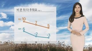 [날씨] 내일 전국에 눈ㆍ비…서울 첫눈 가능성