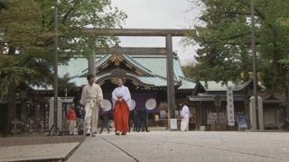 일본 야스쿠니신사 정문 인근서 불…방화여부 조사