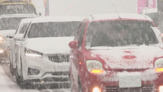 중부 곳곳 많은 눈…출근길 교통 혼잡 우려