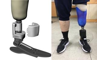 내 다리 같은 느낌…똑똑한 국산 로봇 의족