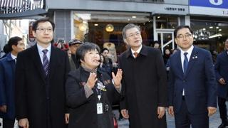 """문 대통령, 창원ㆍ마산 방문…""""경남 적극 지원"""""""