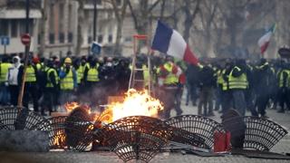 프랑스 노란조끼 전국집회…규모 줄고 충돌 없어