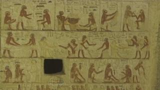 이집트 사카라서 4,400년전 고대무덤 발견