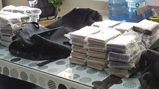 부산항 환적화물서 코카인 63.88kg 적발…200만명 분량