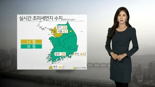 [날씨] 공기질 비상…곳곳 초미세먼지 '나쁨'