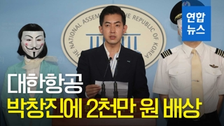 [영상] 대한항공, '땅콩 회항' 피해자 박창진에 2천만 원 배상 판결