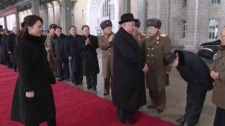 조선중앙TV, 김 위원장 평양 귀환 하루뒤 방영