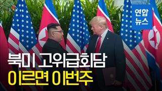 [영상] 폼페이오·김영철, 북미 고위급회담 임박설