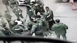 경찰 앞에 무릎 꿇은 조폭…광주 7개파 35명 검거