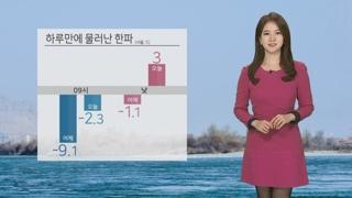 [날씨] 하루만에 누그러진 한파…오늘 공기질 '보통'