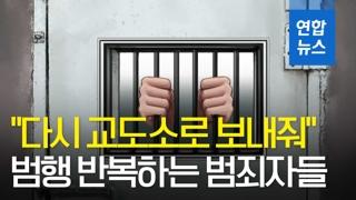 """[영상] """"다시 교도소 보내줘""""…범행 반복하는 범죄자들"""