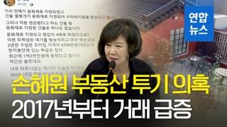 [영상] '손혜원 투기 의혹' 목포 역사거리 2017년부터 거래 급증