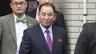 """트럼프-김영철 면담…""""비핵화 향한 다음 단계 논의"""""""