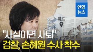 """[영상] """"사실이면 사퇴""""…검찰, 손혜원 사건 수사 착수"""