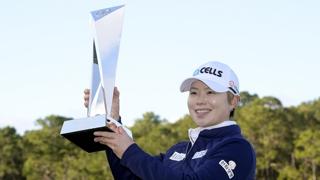 '맏언니' 지은희, LPGA 한국선수 최고령 우승