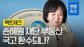 [영상] '투기 의혹' 손혜원 재단 부동산 국고 환수여부 팩트체크해보니