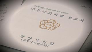 """""""쉼표까지 베껴""""…함량 미달 기초의회 연수보고서"""
