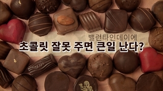 [포토무비] 밸런타인데이에 초콜릿 잘못 주면 큰일 난다?