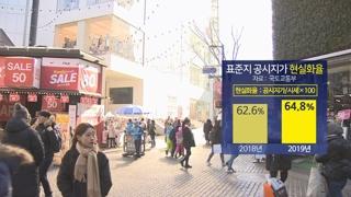 고가 토지 '공시지가 현실화율' 비공개 논란