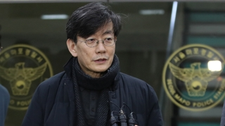 """'폭행시비' 손석희 19시간 경찰 조사…""""사실 밝혀질 것"""""""