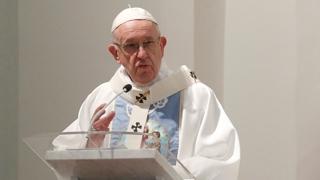 """프란치스코 교황 """"아동 성학대 방지, 이 시대 급박한 도전"""""""