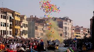 '세계 3대 축제' 이탈리아 베니스 카니발 개막