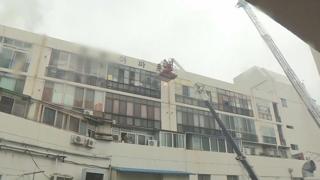 대구 사우나 건물서 불…2명 사망