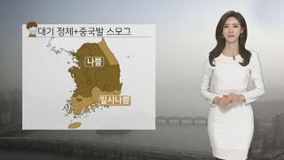 [날씨] 다시 중국발 스모그…수도권 첫 예비저감조치