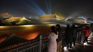 중국 자금성 94년만의 야간개장…3천여명 몰려