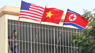 하노이에 무장 경찰 등장…북미 의제협상 임박