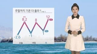 [날씨] 온화하지만 '답답'…당분간 미세먼지