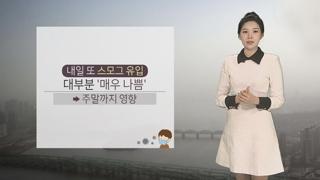 [날씨] 더 악화되는 미세먼지…전국 비상저감조치 발령
