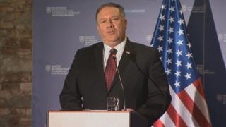 """폼페이오 """"북미 협상 목표는 완전한 비핵화"""""""