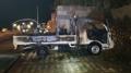 서귀포 리조트 주차 트럭 화재…인명 피해 없어