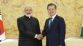 """[녹취구성] 문 대통령, 모디 총리와 정상회담…""""인도는 친구이자 형제"""""""