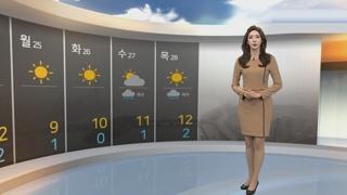 [날씨] 주말ㆍ휴일 잿빛 하늘 계속…서쪽 공기질 '나쁨'