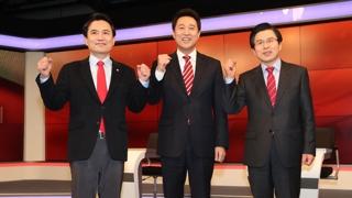 한국당 전대 마지막 TV토론회까지 '박근혜 탄핵' 공방