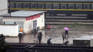바빠진 중국-베트남 접경…김정은 열차 통과 대비
