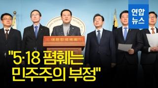 """[영상] 시·도지사 15명 """"5·18 폄훼는 민주주의 부정"""""""