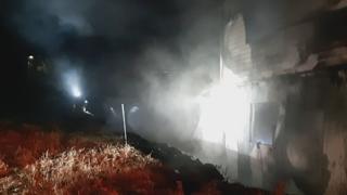 강릉 자동차정비업소 불…30여분만에 진화