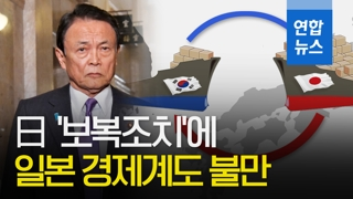 [영상] 日 '보복조치'에 일본 경제계에서도 불만 터져