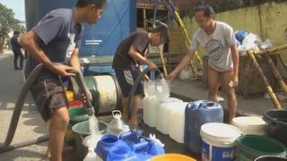 필리핀 물 부족 사태로 600여만명 고통